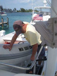 Cruising- Repairing your boat in exotic places