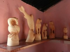 New shop, carvings