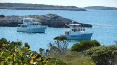 Johnson Cay anchorage-Surge!