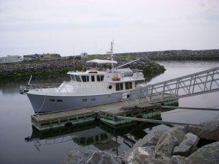 "Matane- the ""holding"" dock"