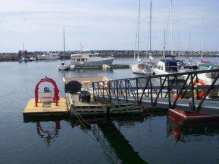 Dock at St. Anne-des-Monts
