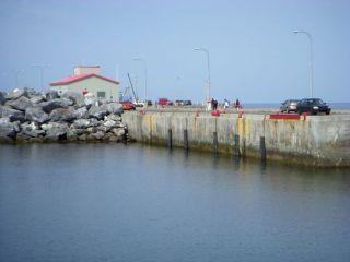 Public wharf, St. Anne