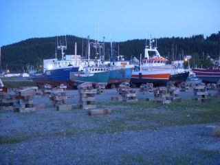 Commercial boat yard