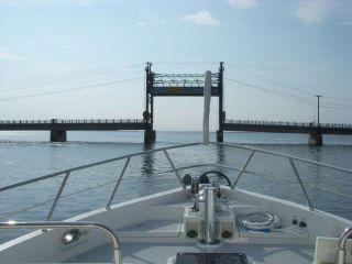 Lift bridge Shippagan