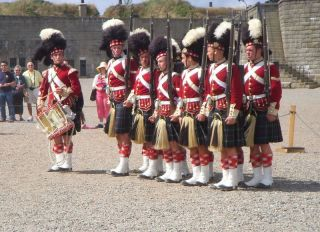 78th Highlanders Drill competition
