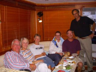 Douglas & Linda, Barb, Heather, Steve & Richard