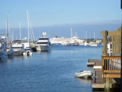 St. Anne's pier- dinghy dock