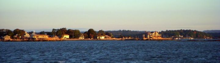 Thimble Islands at sunrise