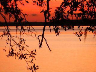 Cumberland Sound sunset