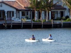 Barb & Chris on kayak excursion