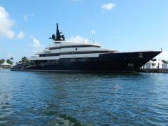 Steven Spielberg\'s yacht