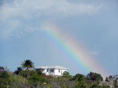 Rare Bahamas rainbow