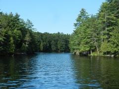 Channel from Swift Rapids- Russian Bay