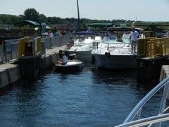 Last lock! Port Severn