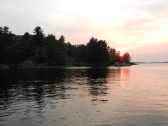 Sunset over Benjamins