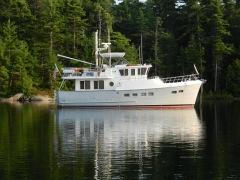 At anchor - Echo Bay