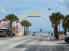 Flagler Ave at the beach