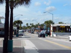 Flagler Ave - looking west