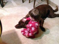 Kyla the dog lover!