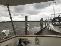 Riding out Michael in Beaufort, SC