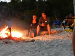 Bonfire warmup