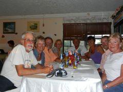 Our dinner gang
