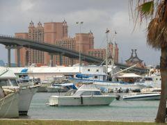 Busy Nassau Harbor