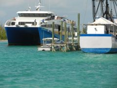Fast Ferry arrives