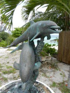 Sculpture in community garden