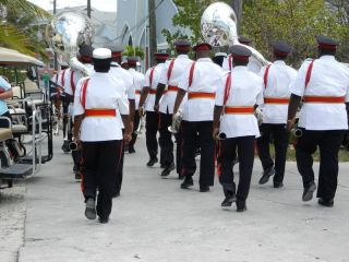 Bahamas brass band