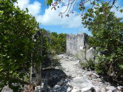 Russel ruins North Hawksbill