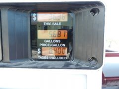 Gas prices - Georgetown