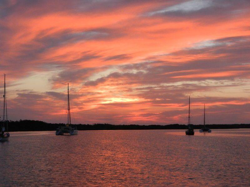 Sunset at Royal Island