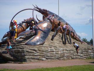 Shediac's Monster Lobster