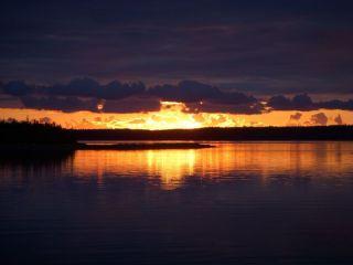 Sunset over Inhabitant's Bay