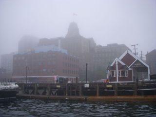 Foggy in Halifax!
