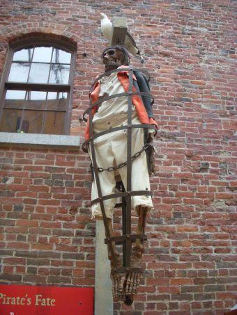 Gibbeting- pirates' execution