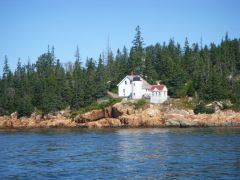 Lighthouse at Bass Harbor