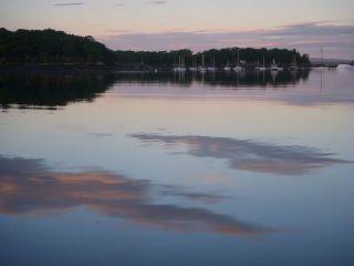 Calm at twilight-Castine
