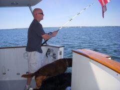 Jared, the fisherman!