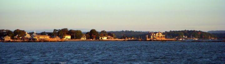 Thimble Islands at sunrise