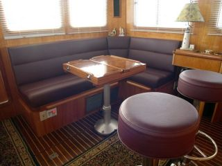 Saloon- after new upholstery