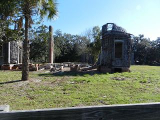 Pool house ruins