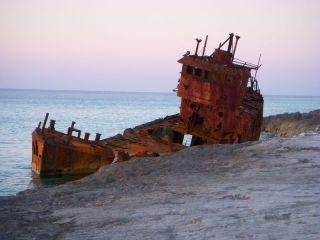 Bimini shipwreck 2009