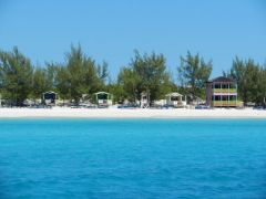 Cruise ship island
