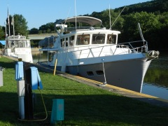 Maerin moored at Ilion Marina