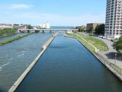 Canal adjacent to Oswego River