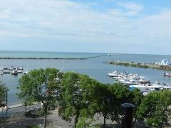 Oswego harbor entrance- Lake Ontario