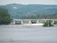 Lock dam at Frankford