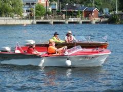 More restored boats